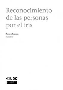 Reconocimiento de las personas por el iris