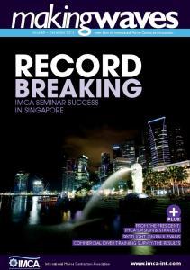 RECORD BREAKING IMCA SEMINAR SUCCESS IN SINGAPORE