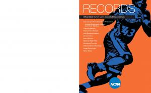 RECORDS. Official 2006 NCAA Men s Basketball Records Book