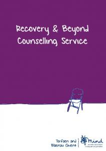 Recovery & Beyond Counselling Service