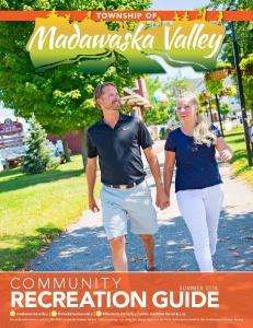 Recreation Guide. Community. Summer 2016