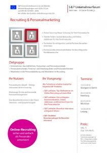 Recruiting & Personalmarketing
