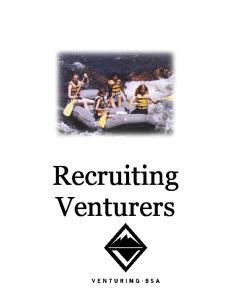 Recruiting Venturers