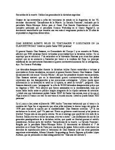 Recuerdos de la muerte. Hablan los genocidas de la dictadura argentina