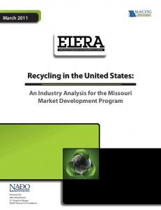 Recycling in the United States:
