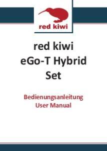 red kiwi ego-t Hybrid Set Bedienungsanleitung User Manual