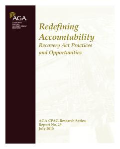Redefining Accountability