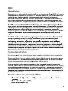 REDES. Historia de las Redes