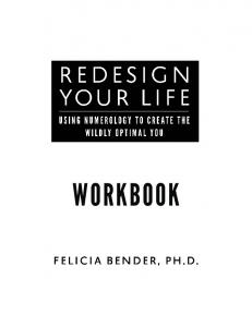 REDESIGN YOUR LIFE. Workbook CONTENTS