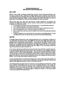 Reengineering Government GPR, Government Process Reengineering