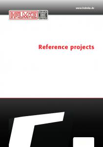 Reference projects English