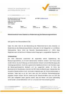Referentenentwurf eines Gesetzes zur Modernisierung des Besteuerungsverfahrens