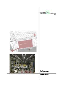 Referenzen. Industriebau