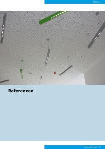 Referenzen. Referenzen. Raumakustik mit Knauf 61