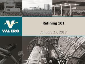 Refining 101. January 17, 2013