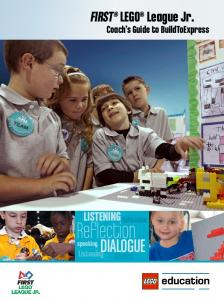 Reflection DIALOGUE. Listening. FIRST LEGO League Jr. Listening. Coach s Guide to BuildToExpress. Listening. Speaking. Listening. Reflection