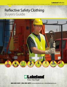Reflective Safety Clothing Buyers Guide
