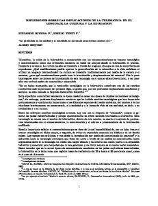 REFLEXIONES SOBRE LAS IMPLICACIONES DE LA TELEMATICA EN EL LENGUAJE, LA CULTURA Y LA EDUCACION