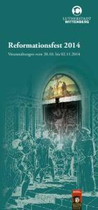 Reformationsfest Veranstaltungen vom bis