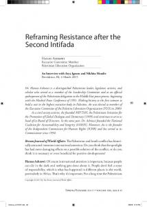 Reframing Resistance after the Second Intifada