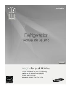 Refrigerador Manual de usuario