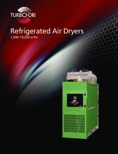 Refrigerated Air Dryers 1,000-19,200 scfm