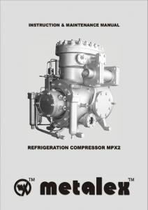 REFRIGERATION COMPRESSOR MPX2