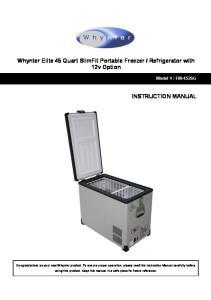 Refrigerator with 12v Option