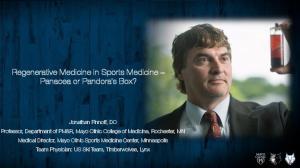 Regenerative Medicine in Sports Medicine Panacea or Pandora s Box?