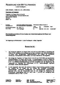 REGIERUNG VON MITTELFRANKEN - Luftamt Nordbayern -
