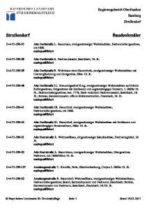 Regierungsbezirk Oberfranken Bamberg Strullendorf