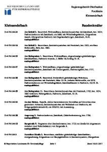 Regierungsbezirk Oberfranken Forchheim Kleinsendelbach