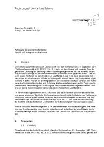 Regierungsrat des Kantons Schwyz