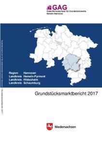 Region Hannover Landkreis Hameln-Pyrmont Landkreis Hildesheim Landkreis Schaumburg