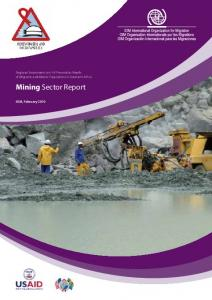 Regional Assessment on HIV-Prevention Needs of Migrants and Mobile Populations in Southern Africa. Mining Sector Report. IOM, February 2010