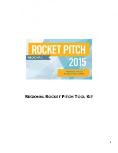 REGIONAL ROCKET PITCH TOOL KIT