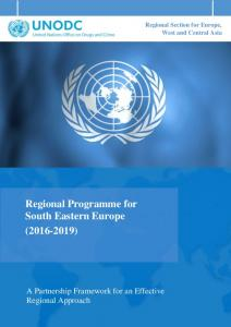 Regional Section for Europe, West and Central Asia Regional Programme for South Eastern Europe ( )