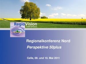 Regionalkonferenz Nord Perspektive 50plus