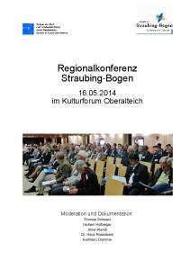 Regionalkonferenz Straubing-Bogen
