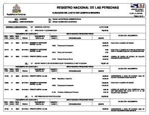 REGISTRO NACIONAL DE LAS PERSONAS