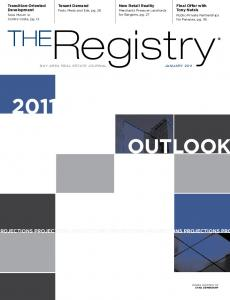 Registry THE OUTLOOK ROJECTIONS PROJECTIONS PROJECTIONS PROJECTIONS PROJECTIONS PROJECTIONS PRO. Transition-Oriented Development