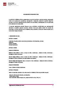 REGLAMENTO DE BIBLIOTECA CRAI