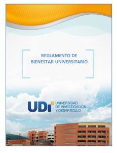 REGLAMENTO DE BIENESTAR UNIVERSITARIO