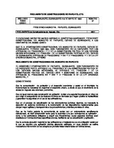 REGLAMENTO DE CONSTRUCCIONES DE IRAPUATO, GTO. PRESIDENCIA MUNICIPAL- IRAPUATO, GUANAJUATO. REGLAMENTO de Construcciones de Irapuato, Gto