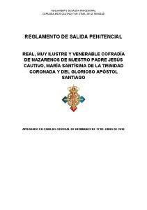 REGLAMENTO DE SALIDA PENITENCIAL