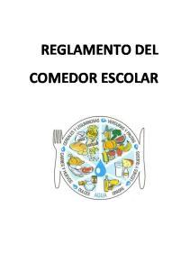 REGLAMENTO DEL COMEDOR ESCOLAR