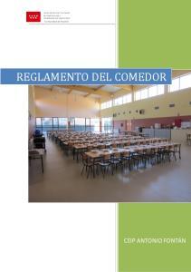 REGLAMENTO DEL COMEDOR
