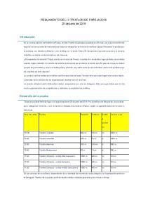REGLAMENTO DEL IX TRIATLON DE PAREJA de junio de 2016
