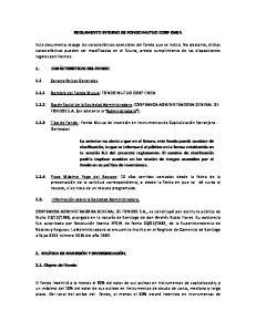 REGLAMENTO INTERNO DE FONDO MUTUO CORP EMEA
