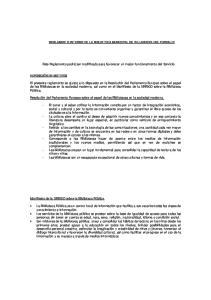 REGLAMENTO INTERNO DE LA BIBLIOTECA MUNICIPAL DE VILLANUEVA DEL PARDILLO